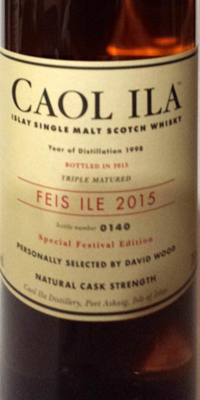 Caol Ila 1998