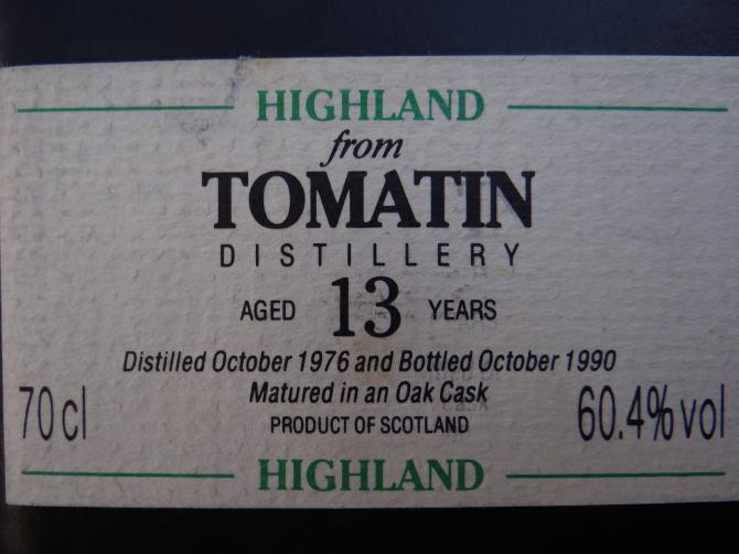 Tomatin 1976 CA