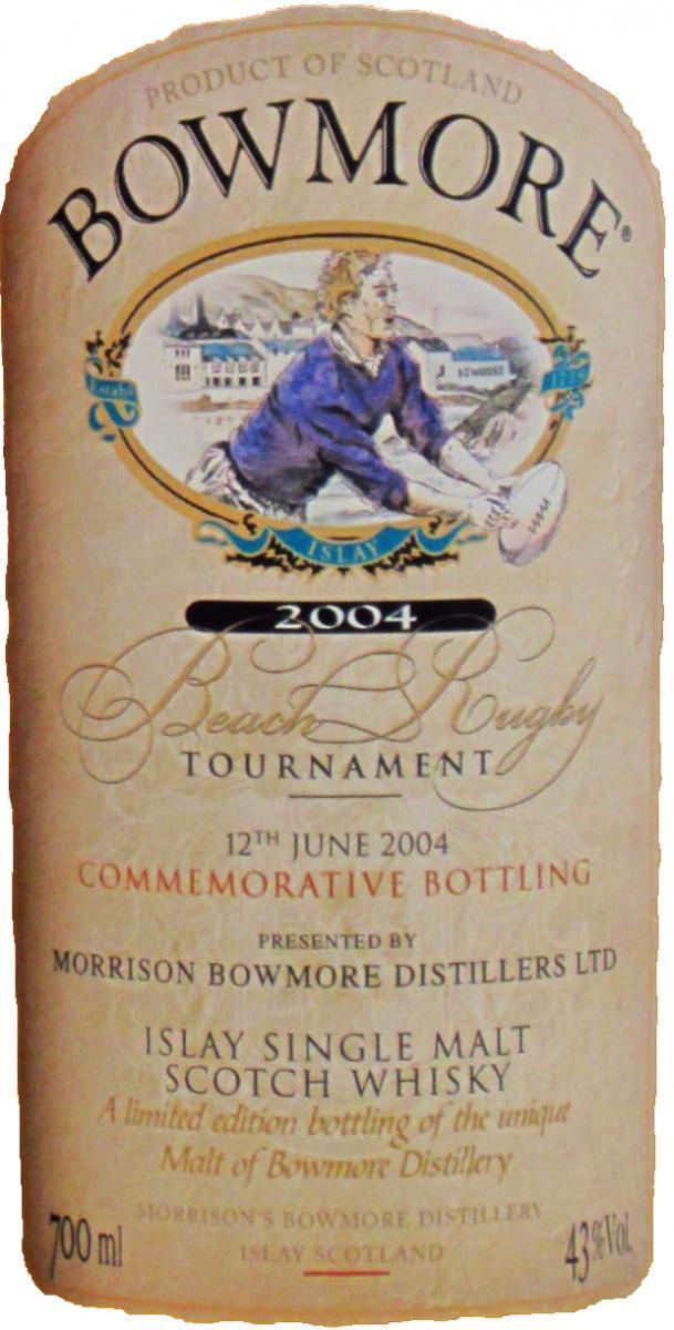 Bowmore Beach Rugby Tournament