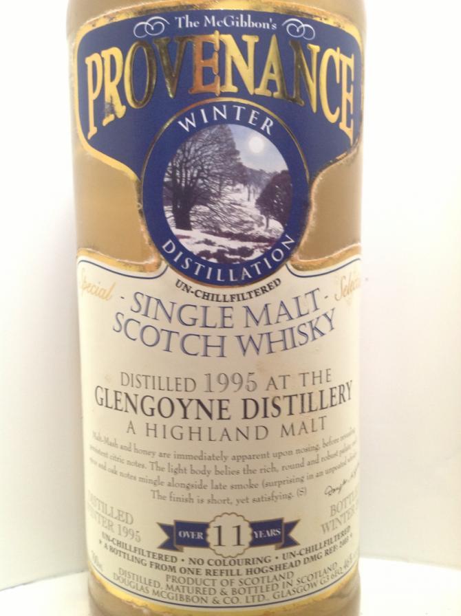 Glengoyne 1995 McG