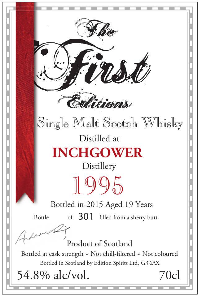 Inchgower 1995 ED