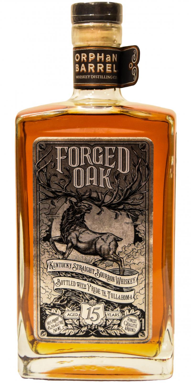 Forged Oak 15-year-old OrBa