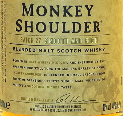 Monkey Shoulder NAS