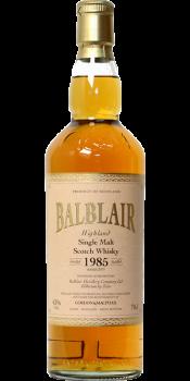 Balblair 1985 GM