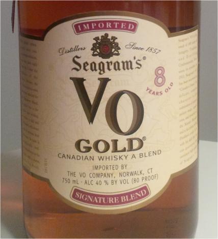 Seagram's VO Gold