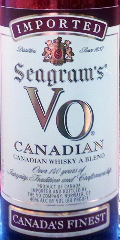 Seagram's VO Canadian