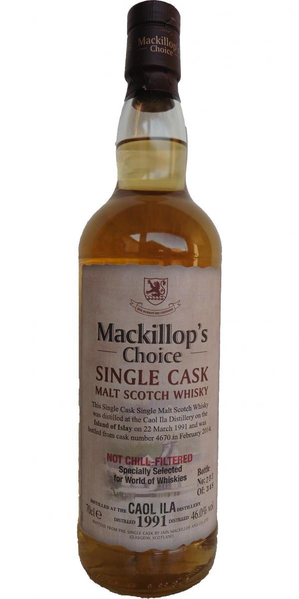 Caol Ila 1991 McC