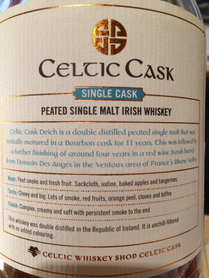Celtic Cask 1999 - Deich - 10