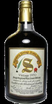 Glendronach 1970 SV