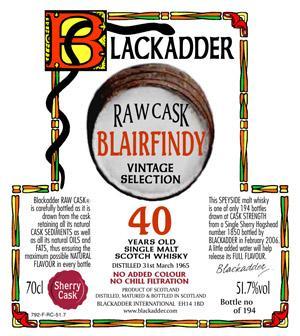 Blairfindy 1965 BA