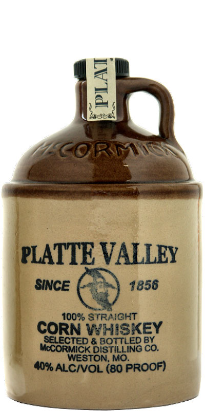 Platte Valley 100% Straight Corn Whiskey