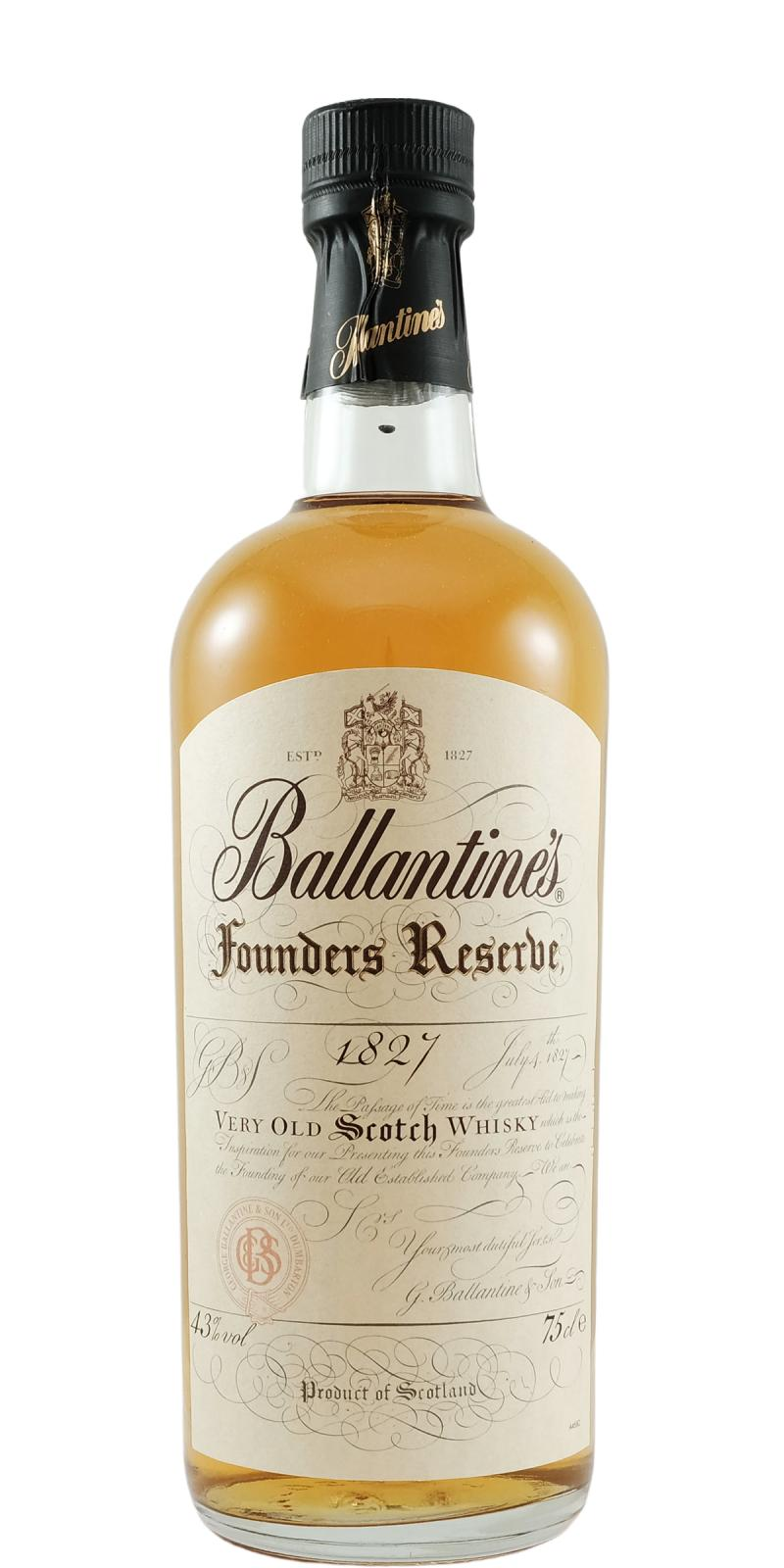 Ballantine's Founders Reserve 1827