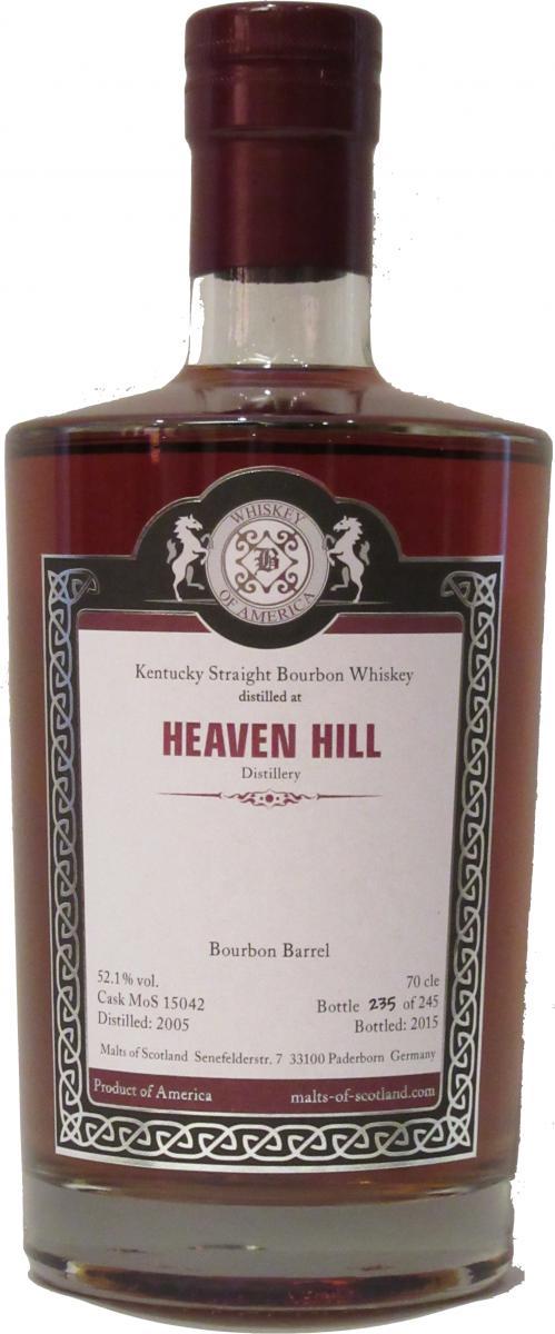 Heaven Hill 2005 MoS