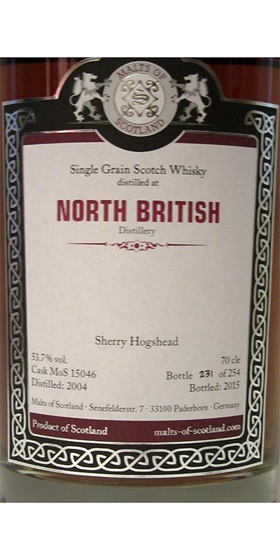 North British 2004 MoS