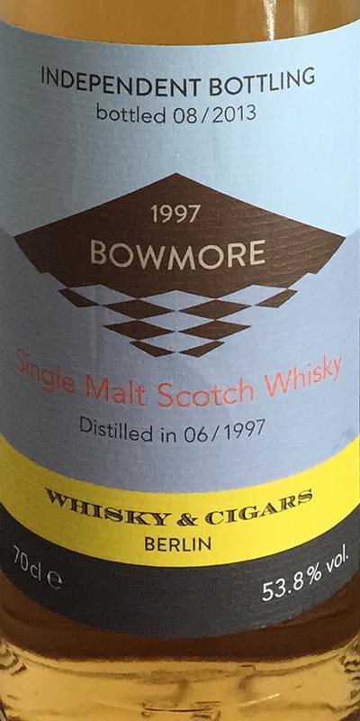 Bowmore 1997 W&C