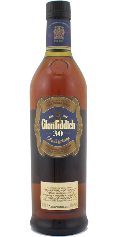 Glenfiddich 30-year-old