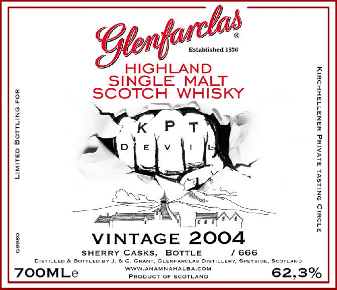 Glenfarclas 2004 for ANHA