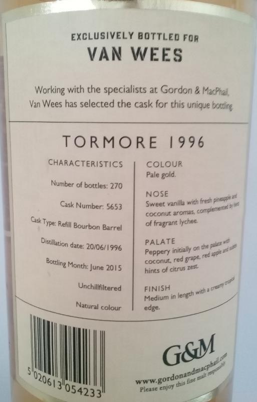 Tormore 1996 GM