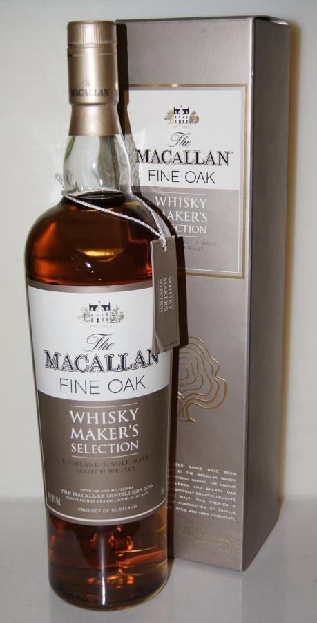 Macallan Whisky Maker's Selection