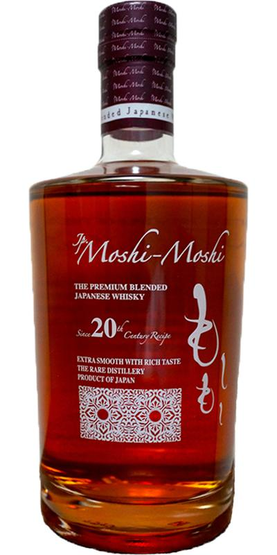 Jp. Moshi-Moshi The Premium Blended Japanese Whisky - Ratings and reviews - Whiskybase