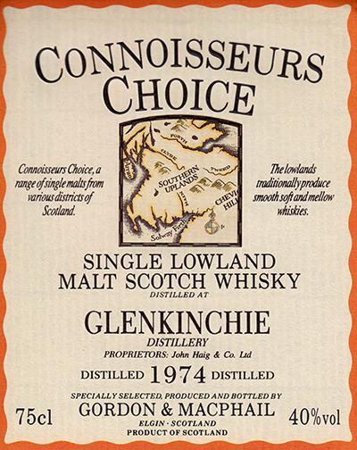 Glenkinchie 1974 GM