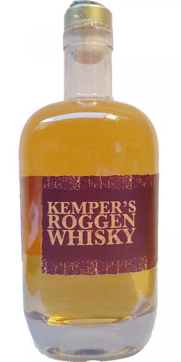 Kemper's Roggen Whisky 03-year-old