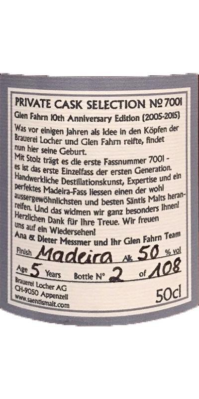 Säntis Malt Private Cask Selection