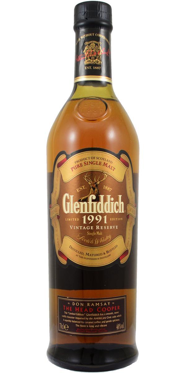 Glenfiddich 1991 Vintage Reserve