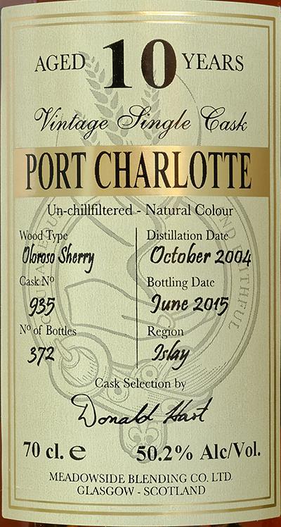 Port Charlotte 2004 MBl