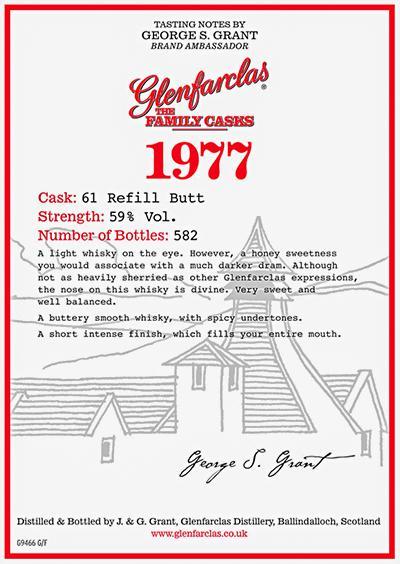 Glenfarclas 1977
