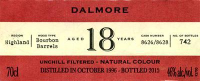 Dalmore 1996 IM
