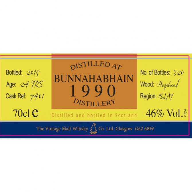 Bunnahabhain 1990 CC