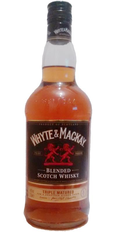 Whyte & Mackay Blended Scotch Whisky W&M