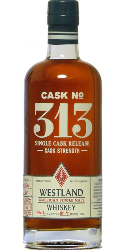 Westland Cask No. 313
