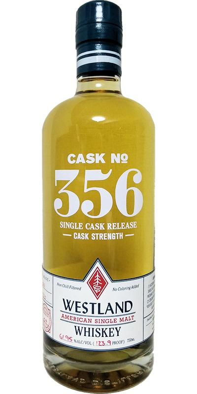 Westland Cask No. 356