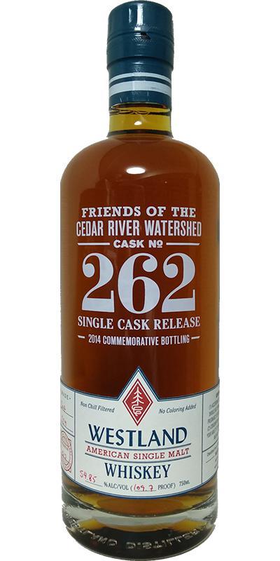 Westland Cask No. 262