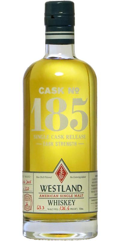 Westland Cask No. 185