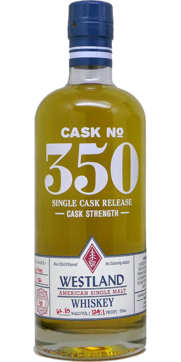 Westland Cask No. 350