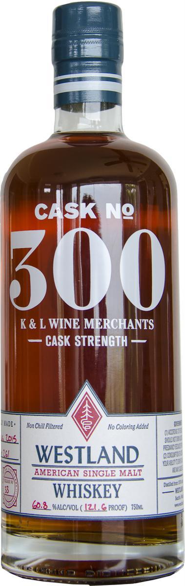 Westland Cask No. 300