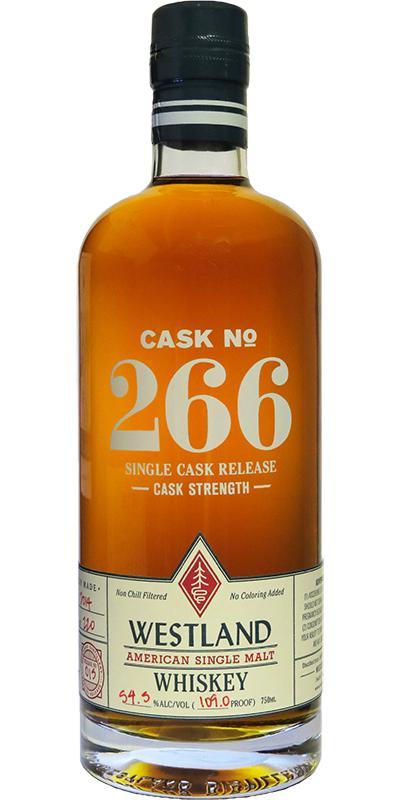 Westland Cask No. 266