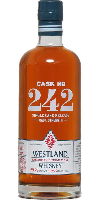 Westland Cask No. 242