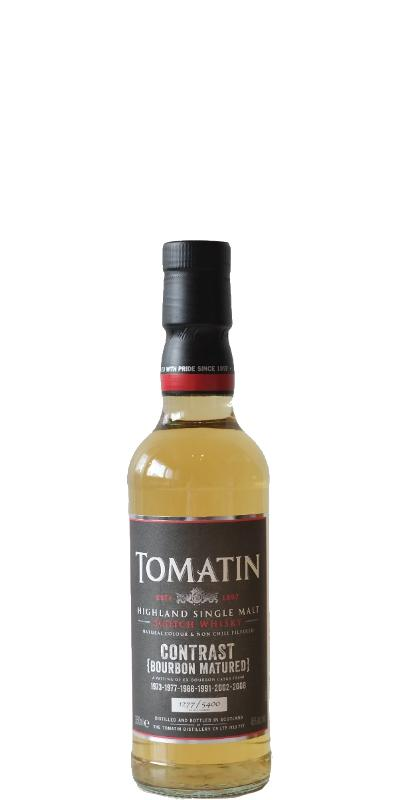 Tomatin Contrast (Bourbon Matured)