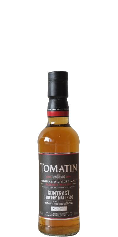 Tomatin Contrast (Sherry Matured)
