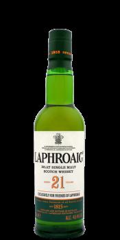 Laphroaig 21-year-old