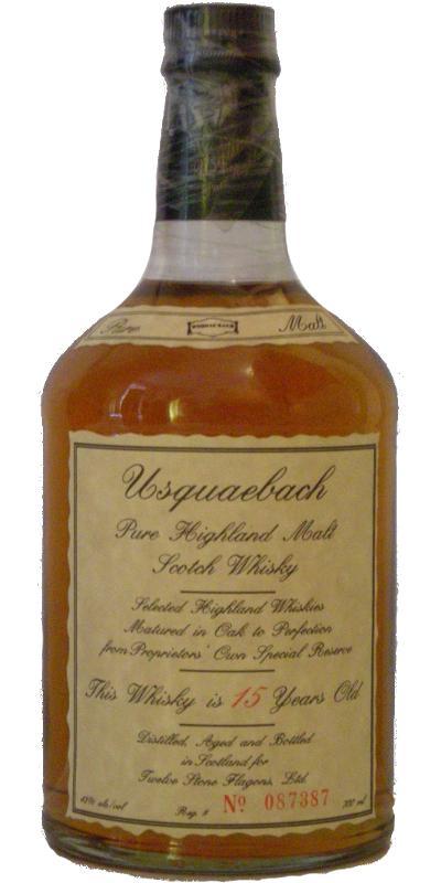 Usquaebach 15-year-old