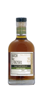 William Grant & Sons Limited Batch No: 1/062501