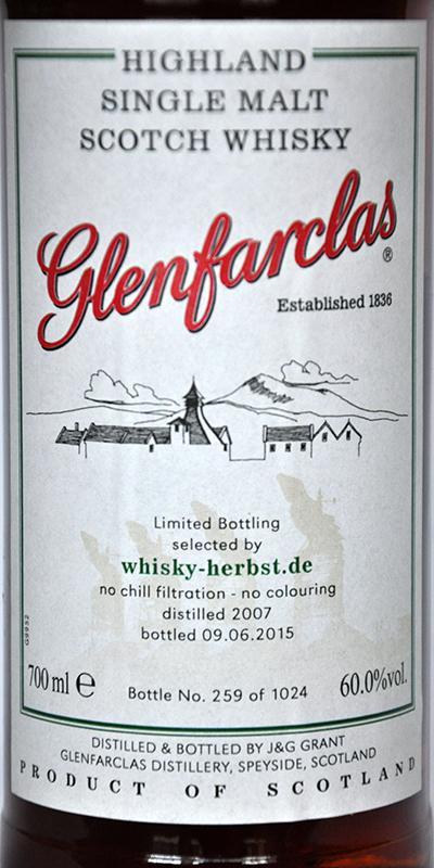 Glenfarclas 2007