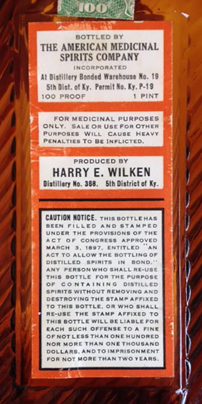 American Medicinal Spirits 1917
