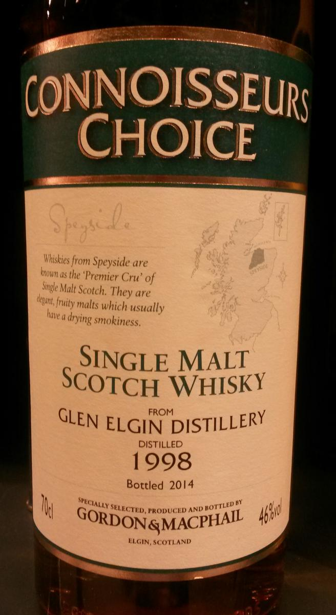 Glen Elgin 1998 GM