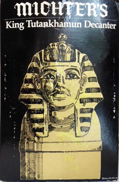 Michter's King Tutankhamun Decanter